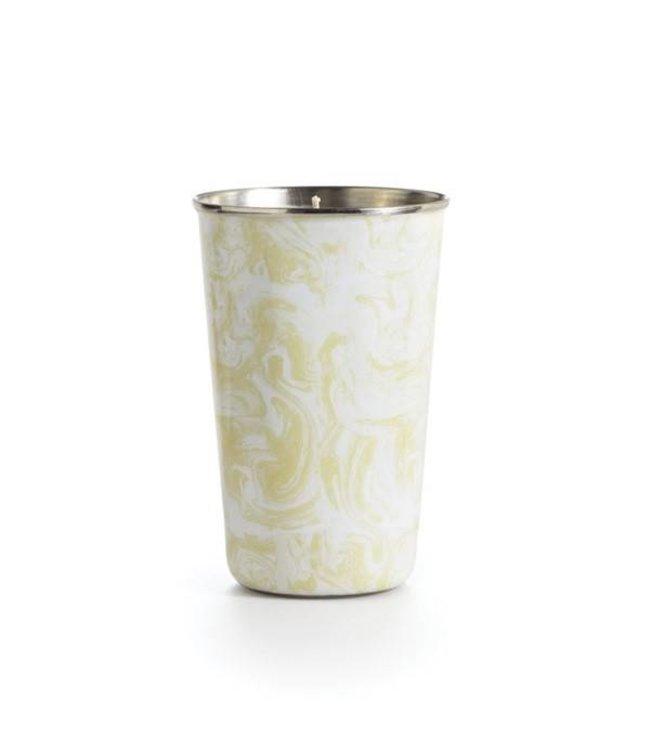 illume Gardenia Enameled Tumbler Candle