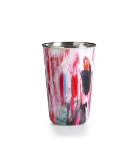 illume Thai Lily Enameled Tumbler Candle