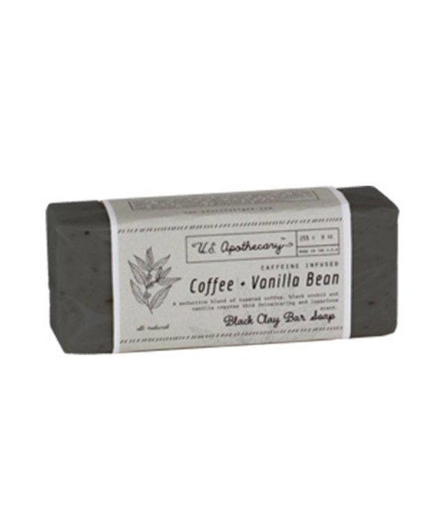 US Apothecary Coffee & Vanilla Bean Bar Soap
