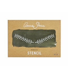 Annie Sloan Unfolded Branch Stencil