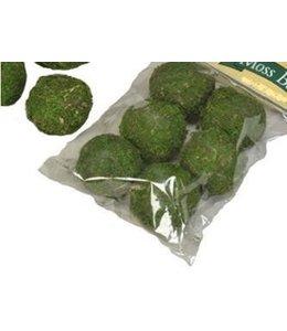 """Moss Ball Green 2"""" 6-pack"""