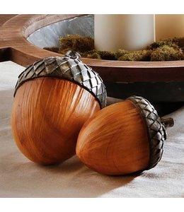 Wood Acorn Large