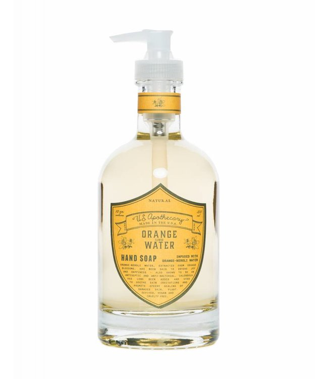 US Apothecary Orange Water Hand Soap