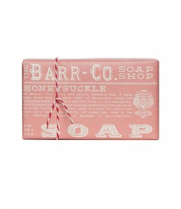 Barr Co. Honeysuckle Triple Milled Bar Soap
