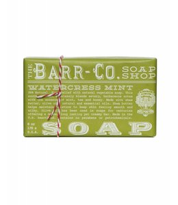Barr Co. Watercress Mint Triple Milled Bar Soap