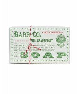 Fir & Grapefruit Triple Milled Bar Soap