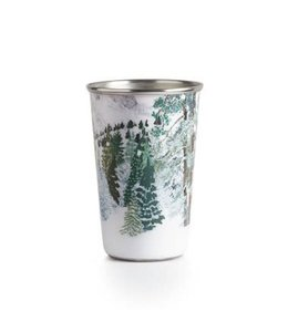 illume Balsam & Cedar Enameled Tumbler Candle