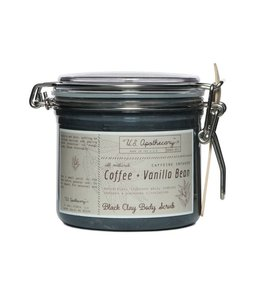US Apothecary Coffee & Vanilla Bean Clay Body Scrub