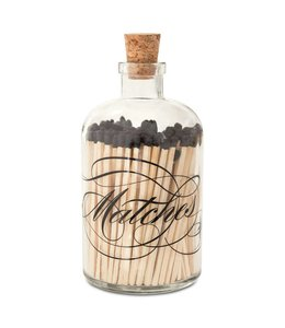 Skeem Apothecary Calligraphy Large Match Bottle