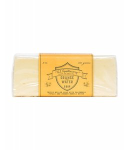 US Apothecary Orange Water Bar Soap