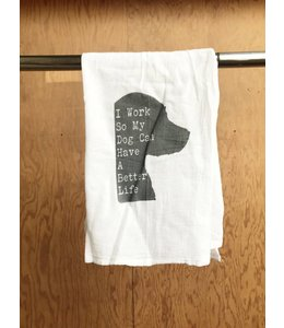 Stash Style My Dog Dish Towel