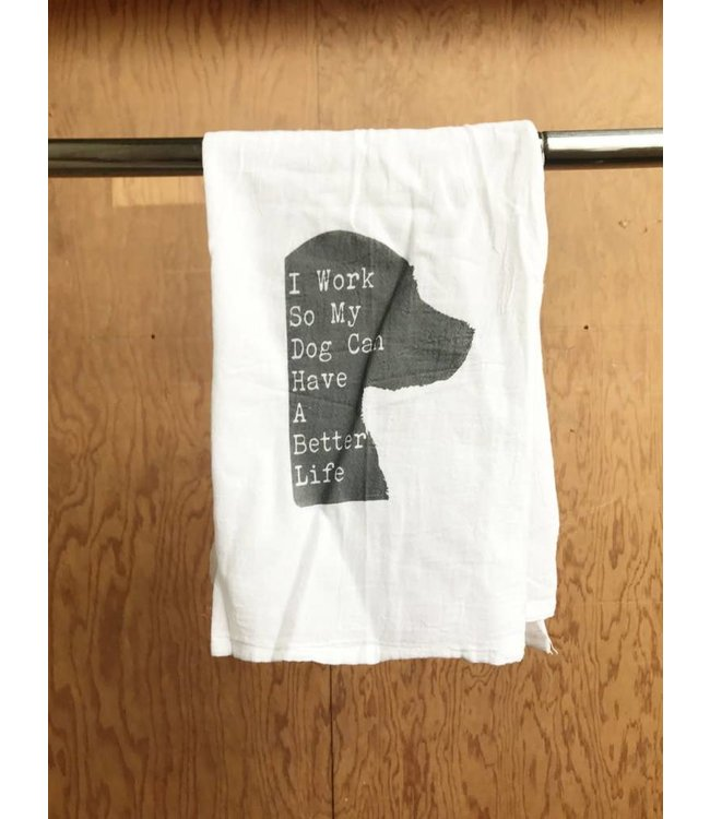 Stash Style My Dog Dish Towel