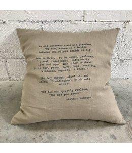 Stash Style Cherokee Pillow Tan