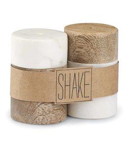 Mud Pie Salt & Pepper Shaker Set