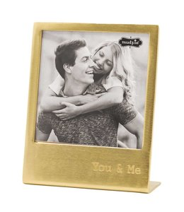 Mud Pie You & Me Metal Easel Frame