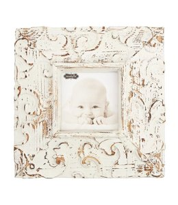 Mud Pie Square Molded Antique Textured Frame