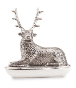 Mud Pie Deer Butter Dish