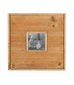Foreside Home & Garden Wood Panel Frame - 4x4