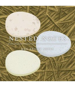 Chronicle Books Nested Notes Egg Sticky Notes