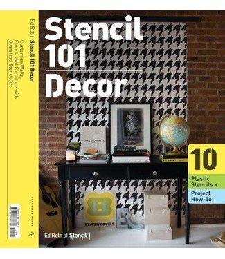 Chronicle Books Stencil 101 Decor