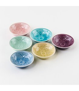 One Hundred Eighty Degrees Pastel Dipping Bowl 4""