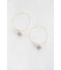 Lovoda Wynn Hoop Earrings