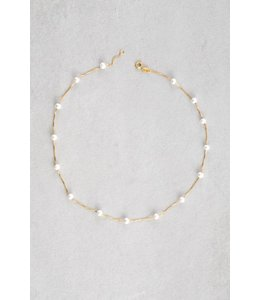 Lovoda Apricity Necklace Pearl / Gold (14K)