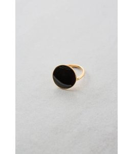 Lovoda First Look Ring Black 14K