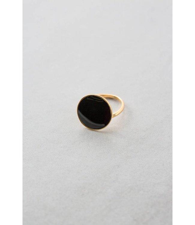Lovoda First Look Ring Black 14K