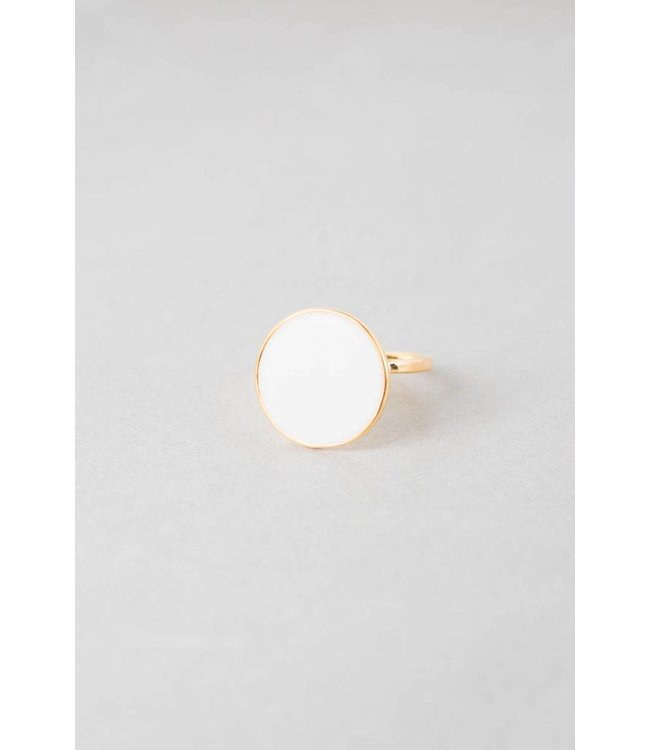 Lovoda First Look Ring White 14K