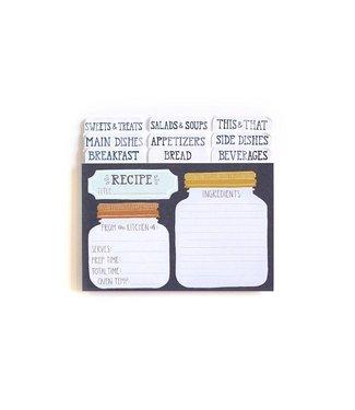 One Canoe Two Mason Jar Recipe Cards