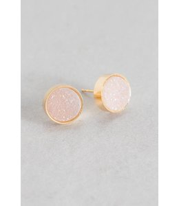 Lovoda Kaleidoscope Druzy Earrings - Daydream
