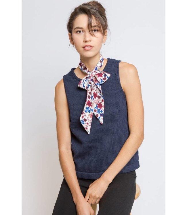 Lovoda Necktie Scarf - Cherry Blossom Daze