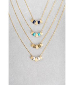 Lovoda Raindrop Necklace - Royal