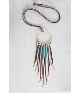 Lovoda Tribal Tassel Necklace - Colbie