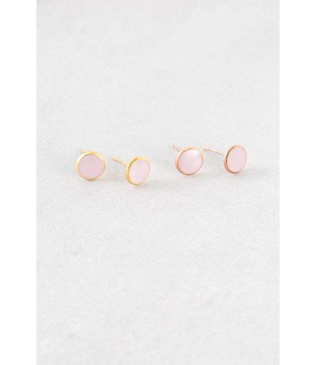 Lovoda Palette Earrings - Mauve