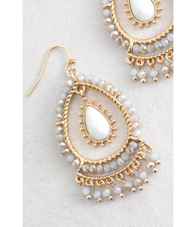 Lovoda Clara Dangle Earrings - Dangle Blue