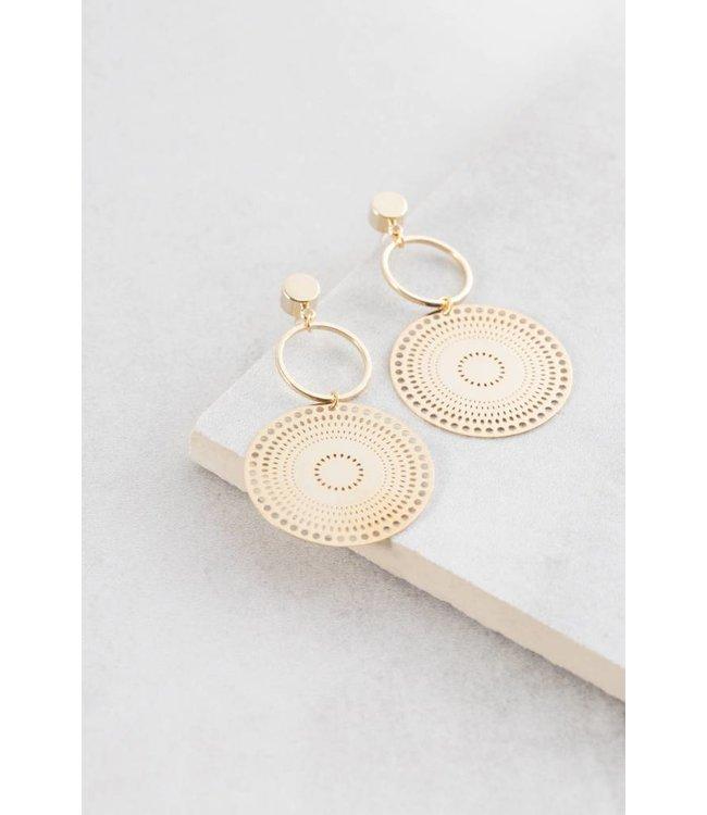 Lovoda Danica Filigree Earrings