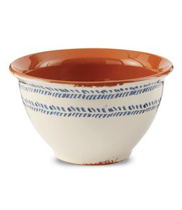 Mud Pie Bungalow Prep Bowl Leaf