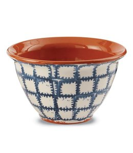 Mud Pie Bungalow Prep Bowl Ikat