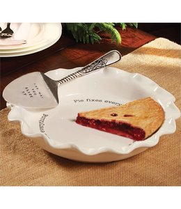 Mud Pie Circa Pie Plate & Server Set