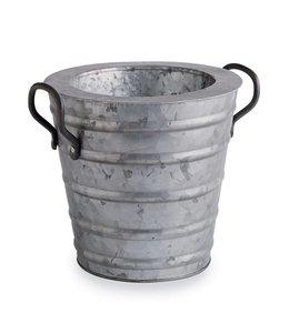 Mud Pie Galvanized Tin Beverage Cooler