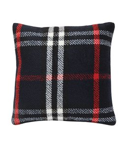 "Creative Co-Op 24"" Wool Blend Plaid Pillow"