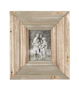 "Mud Pie Reclaimed Wood Frame 14"" x 12"""