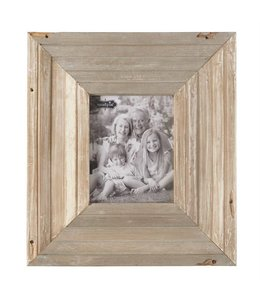 "Mud Pie Reclaimed Wood Frame 20"" x 18"""