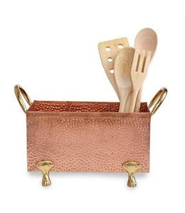 Mud Pie Copper Utensil Caddy