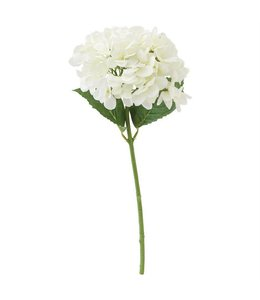 Mud Pie White Hydrangea Stem