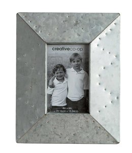 Creative Co-Op Cottage Chic Metal Photo Frame 4 X 6