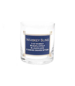 Floor 9 Whiskey Sling Recipe Glass