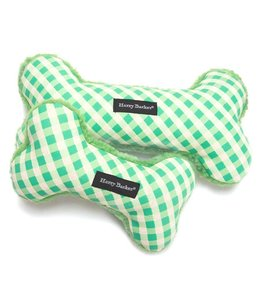 Harry Barker Gingham Bone Green - Large